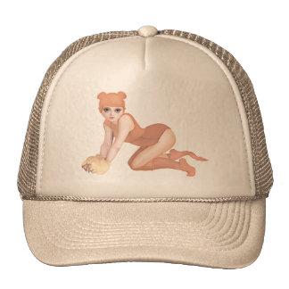 yips piggy trucker hat