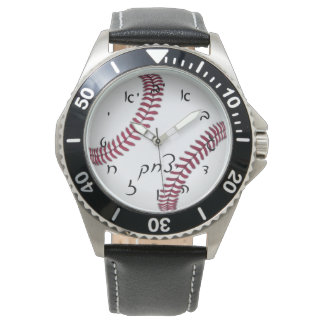 Yitzchak (Isaac) Baseball Time Watch