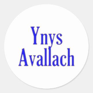 Ynys bill guaranty-laugh Avalon Classic Round Sticker