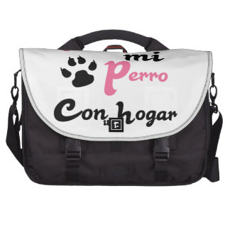 Yo apoyo a mi Perro Bag For Laptop