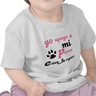 Yo apoyo a mi Perro Tshirt