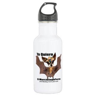 Yo quiero el murcielago perro - I love the Batdog 532 Ml Water Bottle