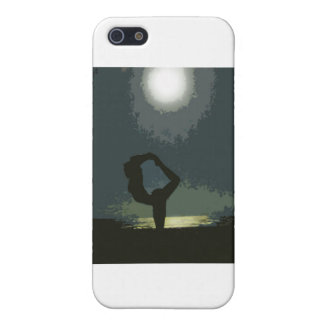 Yoga by Moonlight iPhone 5/5S Covers
