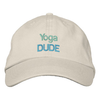 YOGA DUDE cap Embroidered Hats