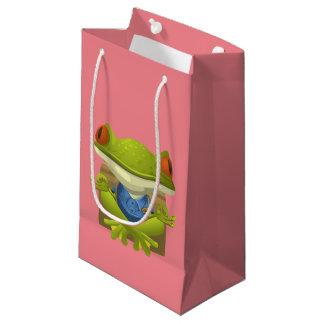 Yoga Frog Small Gift Bag