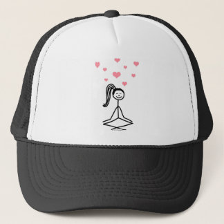Yoga Girl Trucker Hat