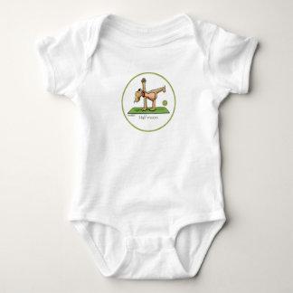 Yoga - Half Moon Baby Bodysuit