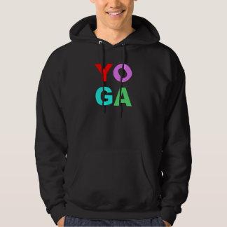 Yoga letters hoodie