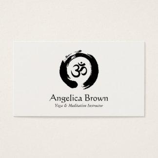 Yoga & Meditation Instructor Business Card