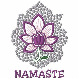 Yoga Namaste Embroidered Women's T-Shirt