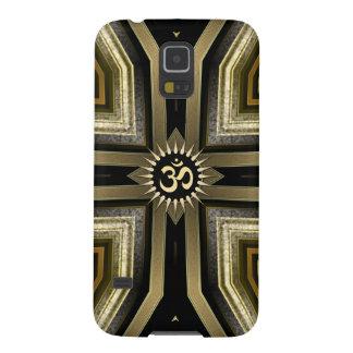 Yoga OM Black Gold Sunshine Galaxy S5 Case