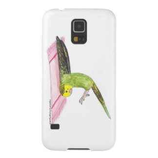 Yoga Parakeet Plow pose Galaxy S5 Cases