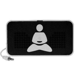 Yoga Pictogram Doodle Speaker
