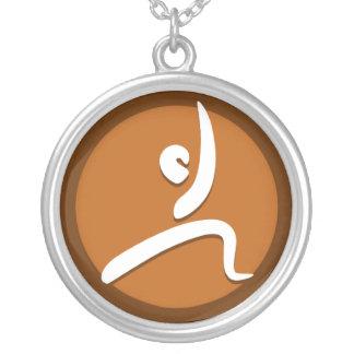Yoga 'Poses VI' Necklace