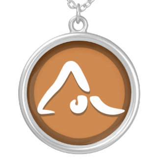 Yoga 'Poses VII' Necklace
