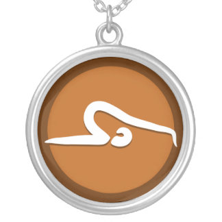 Yoga 'Poses VIII' Necklace