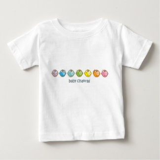 Yoga Speak Baby : All Baby Chakras Baby T-Shirt