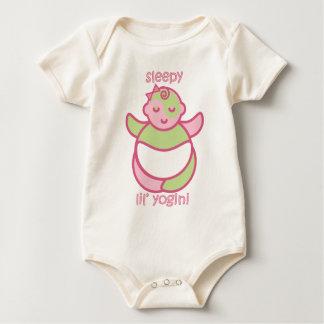 Yoga Speak Baby : Sleepy Lil' Yogini Baby Bodysuit