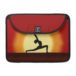 Yoga Sunrise Silhouette 13 Inch Macbook Pro Sleeve MacBook Pro Sleeves