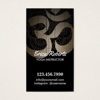 Yoga Vintage Om Symbol Loyalty Punch