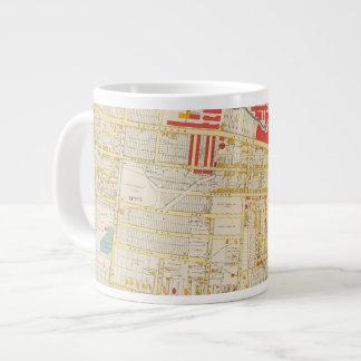 Yonkers Atlas Map 2 Large Coffee Mug