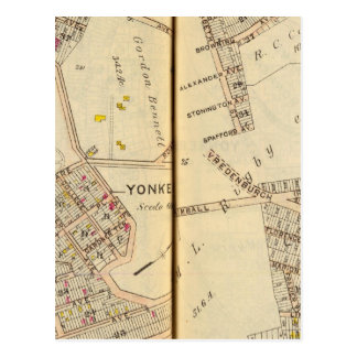 Yonkers, New York 7 Postcard