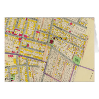 Yonkers New York Map Card