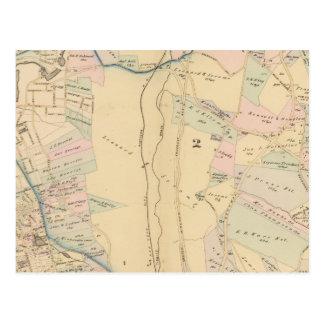 Yonkers wards 1-4, New York Postcard