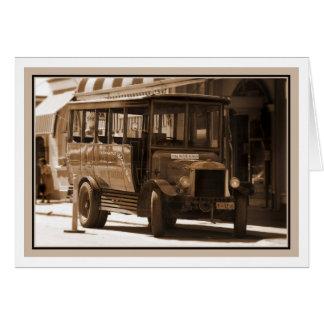 York Bus - Museum Greeting Cards
