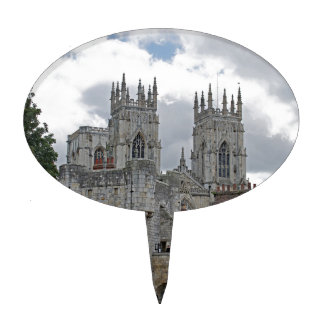 York Minster and Bootham Bar Cake Toppers