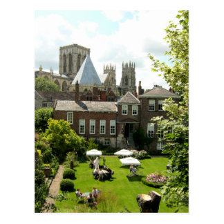 York Minster from York City Walls Postcard