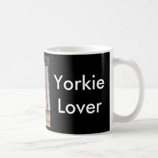 Yorkie Lover Basic White Mug