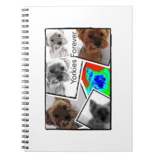 Yorkies Forever Photo Notebook