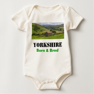 Yorkshire Born & Bred Infant Creeper