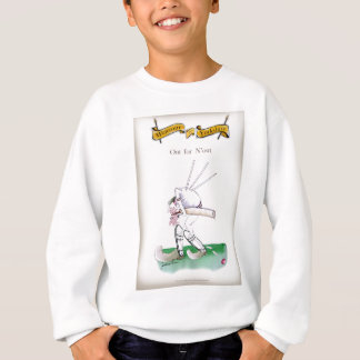Yorkshire Cricket 'out for n'owt' Sweatshirt