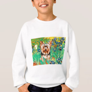 Yorkshire Terrier 17 - Irises Sweatshirt