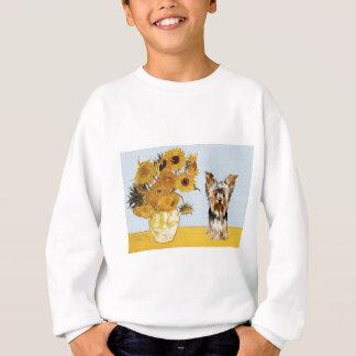 Yorkshire Terrier 17 - Sunflowers Sweatshirt