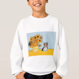 Yorkshire Terrier (Biewer) - Sunflowers Sweatshirt