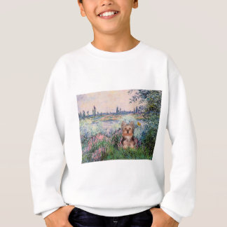 Yorkshire Terrier Puppy - By The Seine Sweatshirt