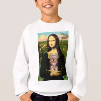 Yorkshire Terrier Puppy - Mona Lisa Sweatshirt