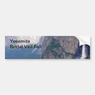 Yosemite Bridal Veil Fall Bumper Sticker