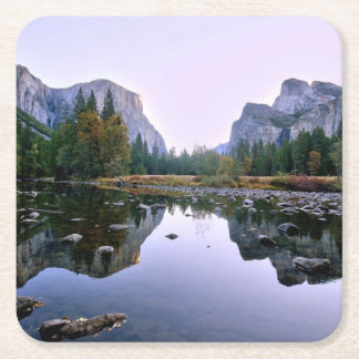 Yosemite National Park Square Paper Coaster
