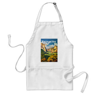 Yosemite National Park Travel Art Standard Apron