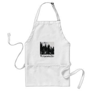 Yosemite No. 1 Black and White Standard Apron