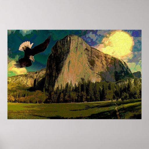 Yosemite-set-1 Abstract Print