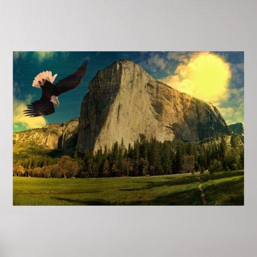 Yosemite-set-1-Sunburst Posters