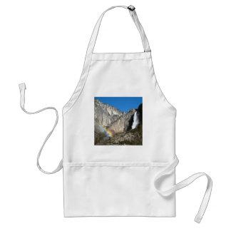 Yosemite Upper Falls Rainbow Standard Apron