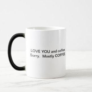 You and Coffee Morphing Mug