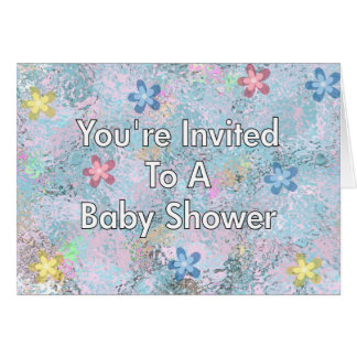 You're Invited To A Baby Shower Greeting Card
