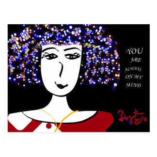YOU ARE ALWAYS ON MY MIND - POSTCARD